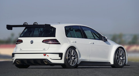 Volkswagen Golf concept TCR racing car