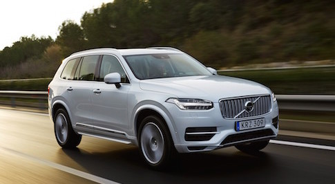 Volvo's new XC90 T8 Twin Engine is approved for Plug In Car Grant