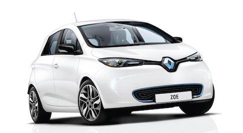 Buyers of the all-electric Renault ZOE to get free home chargers