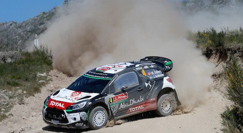 Citro�n Total Abu Dhabi World Rally Team enters the second half of the WRC Season with high hopes