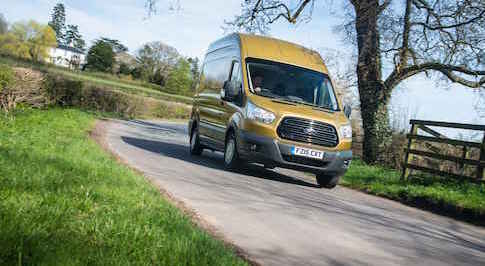 Ford's Transit scoops top award from Auto Express in 50th birthday year