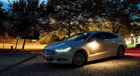 Ford advanced headlights will enable drivers to better see potential hazards