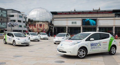 'European Green Capital' Bristol to implement five Nissan LEAFs as driving force during their stint