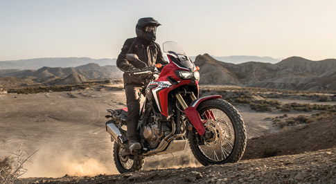 Honda announces specifications for new Africa Twin touring bike