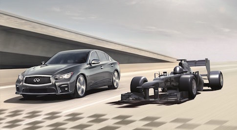 Win the ultimate test drive in an F1 car with Infiniti
