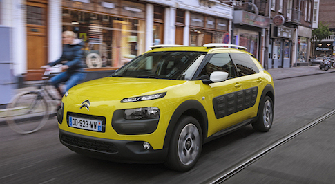 British made Citro�n C4 Cactus named 'New Car of the Year'
