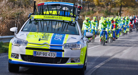 Citro�n supports Tinkoff-Saxo cycling team in the Tour de France 2015
