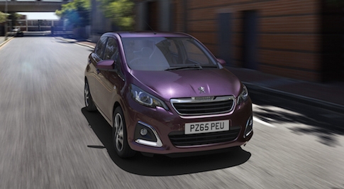 Peugeot 108  a stylish, affordable city car