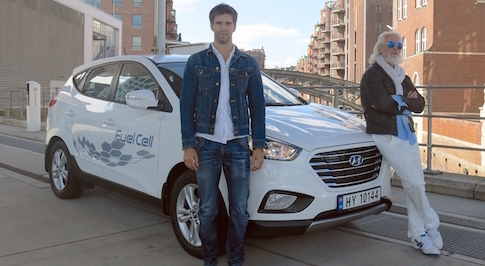 Hyundai ix35 travels record breaking 1,481 miles in 24 hours