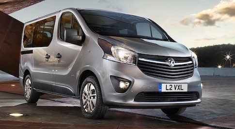 Updated van range from Vauxhall