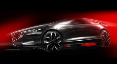 Mazda to unveil their concept crossover at Frankfurt International Motor Show