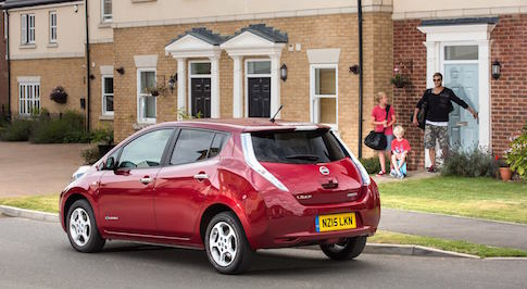 Nissan showcases the best driving roads in Europe in their capable electric vehicles