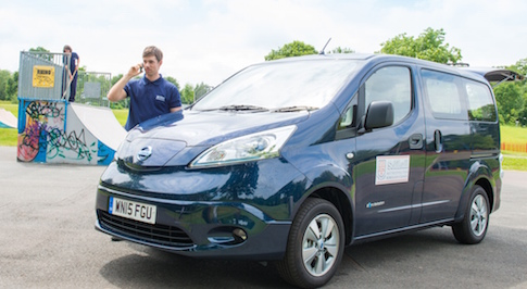 Solihull Council take on the multi-award winning Nissan e-NV200