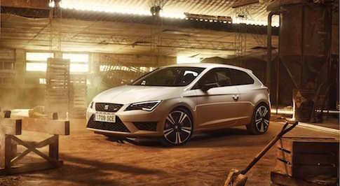 New SEAT Leon CUPRA boasts powerful engine and refined driving performance