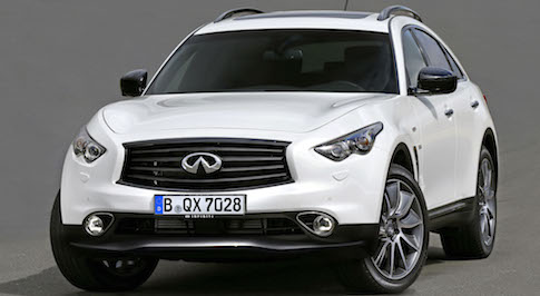 QX70 Ultimate to be launched tomorrow at Frankfurt International Motor Show