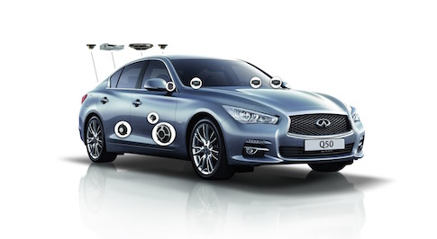 Limited edition Infiniti Q50 Sound Studio by Bose available from October