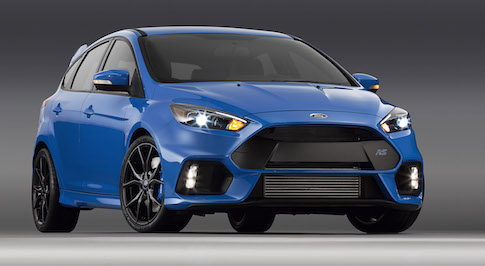 GKN Driveline presents the all-wheel-drive Ford Focus RS at Frankfurt