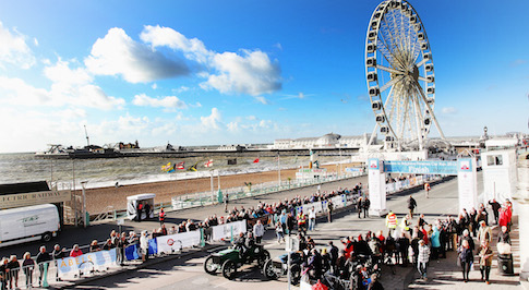 London to Brighton Veteran Car Run to attracts as many as half a million spectators
