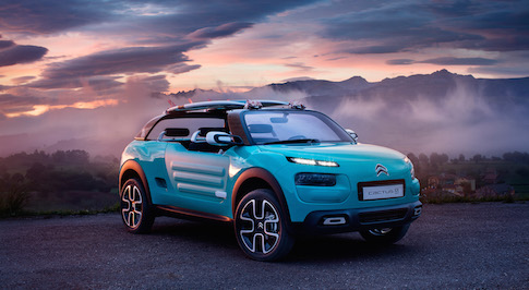 Citroen Cactus M introduced to the Public with action-packed competition