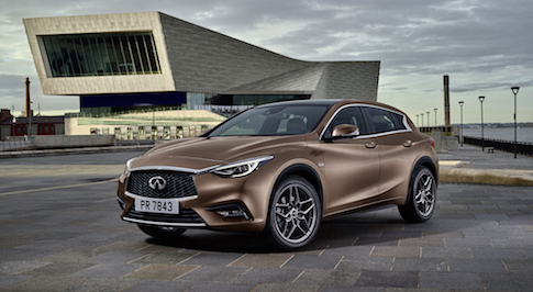 Infiniti achieves record August sales figures