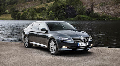 New Superb sends SKODA fleet sales soaring