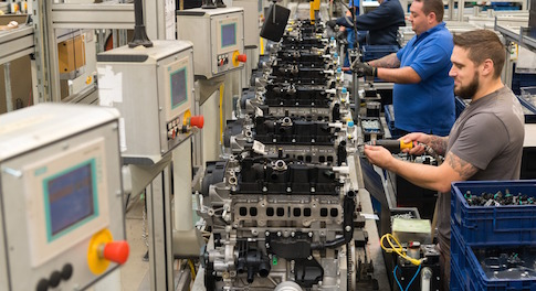 Investment will see new family of low-emission petrol engines built at Ford's Bridgend Engine Plant