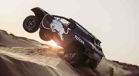 Peugeot 2008 DKR16 revealed, and it's bigger than ever before!