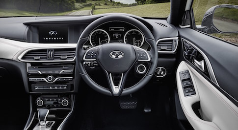 Infiniti Q30 Active Compact world premiere scheduled at International Frankfurt Motor Show