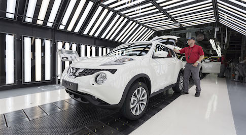 Nissan announce new Juke will be built in the UK