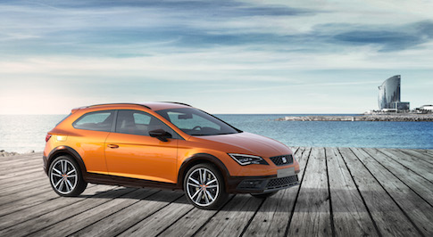 New SEAT Leon Cross Sport concept to be unveiled at Frankfurt