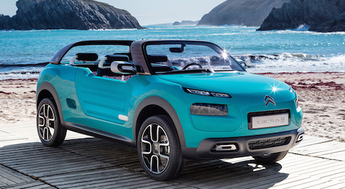 Citroen Cactus M concept meets even the most intrepid adventurers needs
