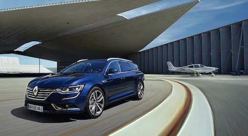 Renault unveils new Talisman Estate at Frankfurt