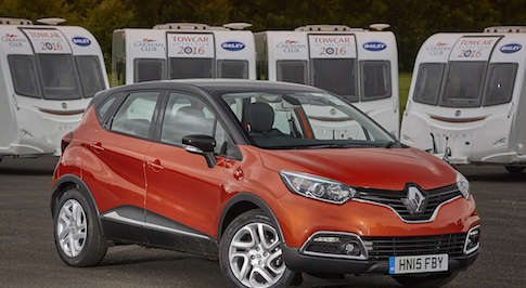 Renault Captur bags Caravan Club Award after impressive judges