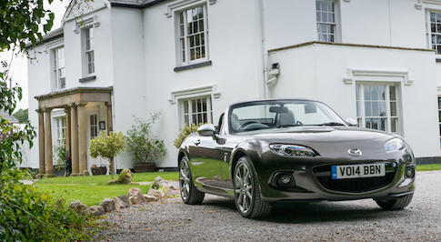 Mazda MX-5 is best cabriolet in 2015 Auto Express Used Car Awards
