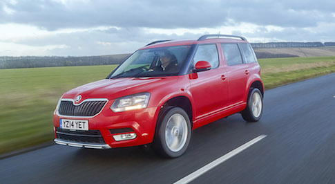SKODA scoops triple win at Auto Express Used Car of the Year Awards