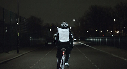 Volvo announces innovative spray paint to make cyclists more visible