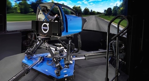 Volvo buy the world's most advanced chassis simulator