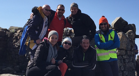 Macklin Motors takes on a mountain for the BBC's Children in Need