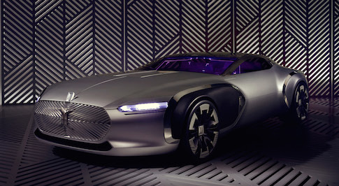 Renault mark the 50th anniversary of Le Cobusier's death with concept car