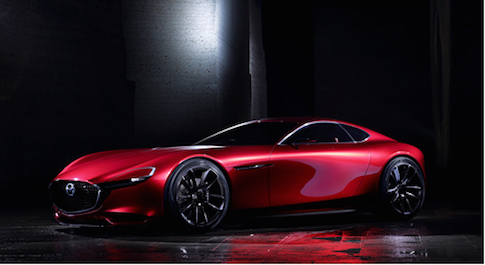Mazda reveal rotary engine sports car concept