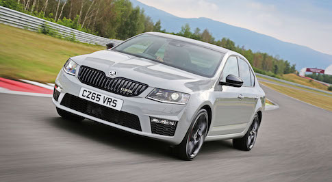 SKODA's popular Octavia vRS receives a specification boost