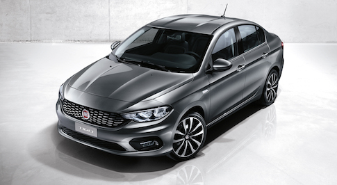Fiat's new saloon has been named the Tipo