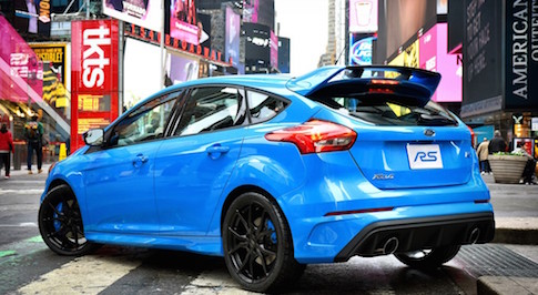 Ford Focus RS proves popular ahead of release