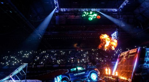 New Ford Ranger partners up with 'ARENACROSS' in exciting country-wide tour