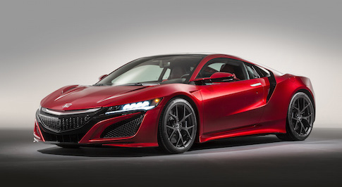 Is Honda planning to follow up the hybrid NSX with an all-electric variant?