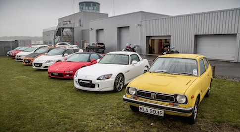 Honda Celebrate 50 years in Britain