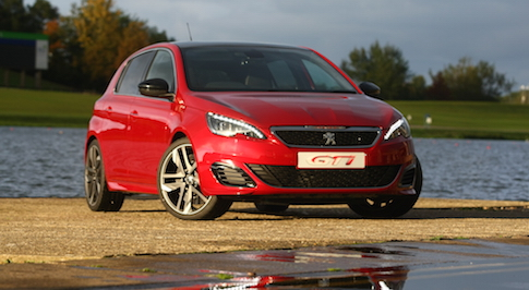 New Peugeot 308 GTi launched in UK with unusual race