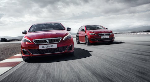 Here is the Peugeot 308 GTi up close