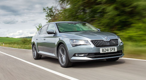 Up close and personal with the Skoda Superb Estate