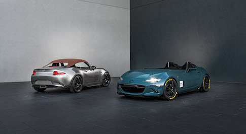 Mazda reveals lightweight MX-5 concepts at SEMA